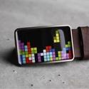 Tetris övcsat, Táska, Divat & Szépség, Férfiaknak, Öv, övcsat, Vőlegényes, Ha SÜRGŐS, kérdezz vásárlás előtt, lehet, hogy van belőle kész darabom is. _________________________..., Meska