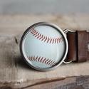 Baseball labda övcsat, Táska, Divat & Szépség, Férfiaknak, Öv, Ruha, divat, Ha SÜRGŐS, kérdezz vásárlás előtt, lehet, hogy van belőle kész darabom is. _________________________..., Meska