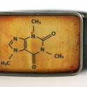 Koffein molekula  - övcsat (ovcsatbolt) - Meska.hu