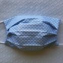 Arcmaszk, szájmaszk, 100 %  pamutvászonból készült 19x9 cm-es száj...