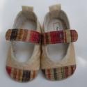 Pehelykönnyű bőrcipő 12,5 cm-es talppal,  Bőr talppal, hogy ne csússzon, bőr orral, hogy...