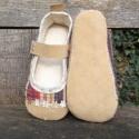Igazi bőrcipő lányoknak 17 cm-es, Ez a cipő rendelésre készült, de mint utólag ...