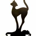 Akciós! Macska,egér matrica, Dekoráció, Bútor, Dísz, Kép, Ez a macskás matrica díszítheti  PL:laptopodat,szobádat bármit amit szeretnél. Mindkét oldala..., Meska