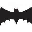 Batman matrica, Dekoráció, Dísz, Kép, Fotó, grafika, rajz, illusztráció, Ez a batman matrica díszítheti  PL:laptopodat,szobádat bármit amit szeretnél. Mindkét oldala fekete..., Meska