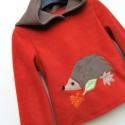 Sünis kapucnis pulóver 110-es, Baba-mama-gyerek, Ruha, divat, cipő, Gyerekruha, Gyerek (4-10 év), Ez a kép egy 110-es méretű pulcsié, ami már gazdára lelt. Amit küldök,  kapucniját  picit bolyhosabb..., Meska
