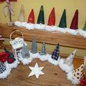 Szakállmanó, Gnome csapat 15darab, Dekoráció, Ünnepi dekoráció, Karácsonyi, adventi apróságok, Karácsonyi dekoráció, Ünnepváró, pöttöm manók! Szépen összegyűltek:) Várják az ünnepet. Még együtt dalolásznak,búcsúzkodna..., Meska