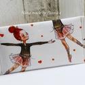 Zsebkendőtartó  balerina, Baba-mama-gyerek, Szépségápolás, Táska, Egészségmegőrzés, Textilből készült papír-zsebkendő tartó, amit minőségi pamutvászonból készítettem. Nagyon praktikus ..., Meska