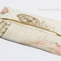 Zsebkendőtartó  könnyed tollak, Baba-mama-gyerek, Szépségápolás, Táska, Egészségmegőrzés, Textilből készült papír-zsebkendő tartó, amit minőségi szövetből készítettem. Nagyon praktikus darab..., Meska