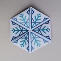 Varázshajtogató - hópelyhes (fehér), Amikor a kezedbe veszed, látszólag csak 2 oldala...