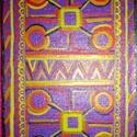 """""""Jelrend-szer-int"""", Képzőművészet, Festmény, Akvarell, Festészet, 26*19 cm-es akvarell festmény, fekete paszpartuval és fa kerettel., Meska"""