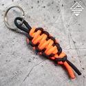 Múmia kulcstartó, Dekoráció, Mindenmás, Dísz, Kulcstartó, Múmia kulcstartó  Modern paracord kulcstartó (vagy táskadísz), amely lehet egyszinű vagy kétszinű.  ..., Meska
