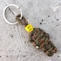 LEGO katona kulcstartó, Dekoráció, Mindenmás, Dísz, Kulcstartó, Csomózás, Ékszerkészítés, LEGO katona kulcstartó  Kérd bármilyen terep színből :) igazán vagány kis figura lesz.  Használható..., Meska