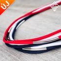 - Amazon - nyaklánc vitorlás színekben, Ékszer, Nyaklánc, Divatos nyaklánc, 7 db paracord szálból, melyek eltérő hosszúságúak, így szebben mutatnak. Minden sz..., Meska