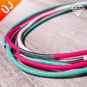 - Amazon - nyaklánc Candy színekben, Ékszer, Nyaklánc, Divatos nyaklánc, 7 db paracord szálból, melyek eltérő hosszúságúak, így szebben mutatnak. Minden sz..., Meska