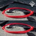 - Red Shield mini - páros védelem karkötő (2 db), Ékszer, Férfiaknak, Karkötő, Ékszer, kiegészítő, Páros karkötő = kedvezőbb ár  A vörös szín immunissá tesz bennünket az ártó negatív energiákkal szem..., Meska