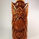 Viking istenszobor / Odin szobor / Viking ajándék, Otthon & lakás, Lakberendezés, Asztaldísz, Famegmunkálás, Fából, kézi megmunkálással faragott Odint ábrázoló istenszobor.  Időtálló, örök darab, nagy odafigy..., Meska