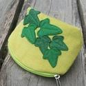 Borostyán zöld színű kord neszeszer, Táska, Ha unod, hogy minden apró dolog, ami nőiességünkhöz kell szétszóródik a táskádban neked ajánlom ezt ..., Meska