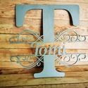 Egyedi név, névtábla, családnév, felirat, Ideális dísze lehet gyerekszobának, bejárati a...