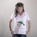 Boldog Karácsonyt!, Baba-mama-gyerek, Ruha, divat, cipő, Kismamaruha, Varrás, Szeretnél valami kreatív öltözködés az ÜNNEPEKRE? Akkor válaszd ezt a jópofa babavárót, ami nemcsak..., Meska