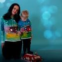 Tűzoltóautó , Baba-mama-gyerek, Ruha, divat, cipő, Gyerekruha, Baba (0-1év), Egymásra néző, szíves tűzoltóautó. Anya és fia nagy kedvence lehet ez a különleges pólópáros.  A kom..., Meska