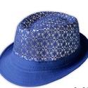 Csipkés női kalap, Gyerek & játék, Varrás, Könnyű, szellős, közkedvelt nyári kalap. Divatos színekben, csipkés felső résszel. Nem gyűrődik, ne..., Meska