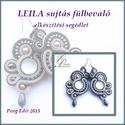 Leila sujtás fülbevaló elkészítési segédlet, Mindenmás, Csináld magad leírások, Leila sujtás fülbevaló  A minta tartalma Részletes lépésről-lépésre szöveges magyarázatot és 72 db s..., Meska