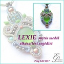 Lexie sujtás medál elkészítési segédlet, Mindenmás, Csináld magad leírások, Lexie sujtás medál  A minta tartalma Részletes lépésről-lépésre szöveges magyarázatot és 100 db szín..., Meska