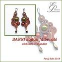 Sanni sujtás fülbevaló elkészítési segédlet egyéni felhasználásra, Sanni sujtás fülbevaló elkészítési segédlet...