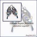 Tindra sujtás fülbevaló elkészítési segédlet, A minta tartalma Részletes lépésről-lépésre ...