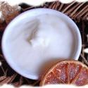 Bőrlágyító kézvédő bio sheakrém mangóvajjal NARANCS-E-VITAMIN, Szépségápolás, Mindenmás, Olyan kézvédő sheahabkrémet készítettem, amelynek összetevői megvédenek a bőr kiszáradásától, és a ..., Meska