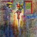 A forradalmi prímszám (1789), Képzőművészet, Festmény, Akril, Pasztell, Festészet, Egy francia nőalak jelképezi a forradalmat. Vászonra festett akril és pasztell, vagyis vegyes techn..., Meska