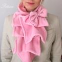 Rózsaszín sál kámzsa körsál masni