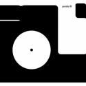 feketefehér állatok, Képeslap, A6-os méret.