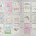 Baba fotó kártya - maxi csomag (75 db), Baba-mama-gyerek, Baba-mama kellék, Fotó, grafika, rajz, illusztráció, Saját szerkesztésű fotó kártyák (milestone card-ok), melyek segíthetnek megörökíteni a babák első é..., Meska