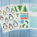 Karácsonyi kreatív csomag, Naptár, képeslap, album, Dekoráció, Ünnepi dekoráció, Karácsonyi, adventi apróságok, Fotó, grafika, rajz, illusztráció, A csomag 24 db jpg filet tartalmaz, melyet emailben küldünk el nektek, és (saját célra) akár több p..., Meska