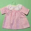 Játékbaba ruha ( virágos ), Baba-mama-gyerek, Játék, Gyerekszoba, Baba játék, , Meska