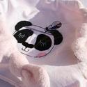 Alvókendő, rongyi, szundikendő - Panda, Baba-mama-gyerek, Baba-mama kellék, Varrás, Ez az édes alvókendő ideális ajándék kisbabák számára . Elválaszthatatlan társ az újszülött kortól ..., Meska