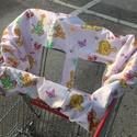 Bevásárlókocsi huzat, Baba-mama-gyerek, Baba-mama kellék, Bevásárlókocsiba készült védőhuzat kisgyerekek számára., Meska