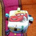 Vidám-színes babakocka!, Baba-mama-gyerek, Játék, Készségfejlesztő játék, Gyerekszoba, Szeretettel köszöntelek!  Eladó a képen látható babakocka! Szép színes mesemintás vászonból  készült..., Meska