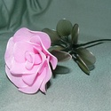 Rózsaszál harisnyavirág több színben, Dekoráció, Otthon, lakberendezés, Dísz, Asztaldísz, Mindenmás, Szeretettel köszöntelek!  Egyedi választható színű harisnyából készült rózsák! Tartós, egyedi ajánd..., Meska