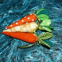Textil sárgarépák!, Dekoráció, Húsvéti díszek, Ünnepi dekoráció, Dísz, Varrás, Szeretettel köszöntelek!  Textilből készült vatelinnel töltött sárgarépák rendelhetők! Az alábbi sz..., Meska