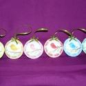 Húsvéti madárkás filcdíszek, Dekoráció, Húsvéti díszek, Ünnepi dekoráció, Dísz, Varrás, Szeretettel köszöntelek!  Filcből készítettem húsvéti madárkás díszeket! Mindkét oldala mintás!  Az..., Meska