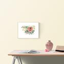 Vadrózsa ágacska - art print (akvarell festményem alapján), Dekoráció, Képzőművészet, Otthon, lakberendezés, Illusztráció, Vadrózsa ágacska - art print (akvarell festményem alapján)  Méret: A4, 21x 29,7cm   Szépséges vadróz..., Meska