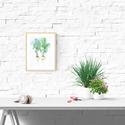 Akvarell Fehér retek pár - art print (akvarell festményem alapján), Képzőművészet, Otthon, lakberendezés, Festmény, Akvarell, Akvarell Fehér retek pár  - art print (akvarell festményem alapján)   Méret: 21 x 29,7 cm (A4)  A ny..., Meska