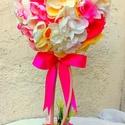 Tavaszi virágfa , Dekoráció, Otthon, lakberendezés, Dísz, Asztaldísz, Legújabb gömbfámat üzleti dekorációnak rendelték, szívesen elkészítem bárkinek akinek megtetszik, gy..., Meska