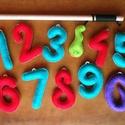 Színes számok, filc kukacok, mágneses filc horgászjáték, Játék, Készségfejlesztő játék, Társasjáték, Vidáman tanulhatók általa a számok, idősebb gyerekek esetében gyakorolható a számolás, a ma..., Meska