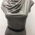 Ezüst öblös ruha, Ruha, divat, cipő, Női ruha, Ruha, Akció!  Az ezüst öblös ruha korábbi ára: 17500Ft volt, most a Tiéd lehet: 12500ft-ért!  A ru..., Meska