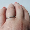 -30%  ezüst bambuszos gyűrű  , Ékszer, Gyűrű, NAGYTAKARÍTÁS   -30% 6000ft helyett 4200ft  925-ös finomságú ezüstből készült, egyszerű bambuszos so..., Meska