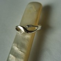 -30%  végtelen jeles ezüst gyűrű , Ékszer, Esküvő, Gyűrű, NAGYTAKARÍTÁS   -30% 7500ft helyett 5250ft  925-ös finomságú ezüstből készült végtelen jelet formálv..., Meska
