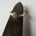 -30%  antik stítusú kalapált gyűrű   , Ékszer, Gyűrű, NAGYTAKARÍTÁS   -30% 6500ft helyett 4550ft  925-ös finomságú ezüstből készült 2mm széles kalapált gy..., Meska